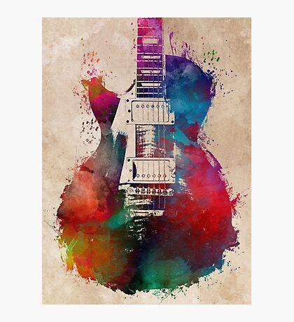 guitar art #guitar  Photographic Print