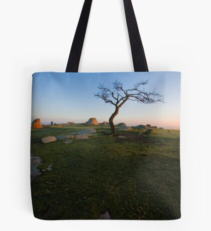 Sunrise at Dog Rocks Tote Bag