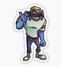 Gorillaz - Del (Small) Sticker