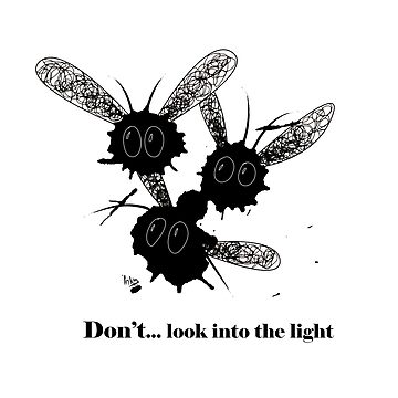 Don't look into the light by Designpoteten