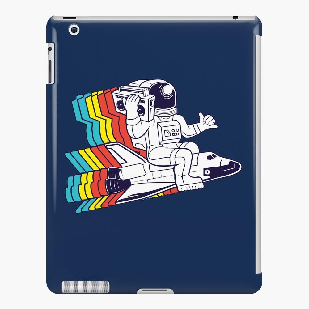 funky astronaut iPad Case & Skin