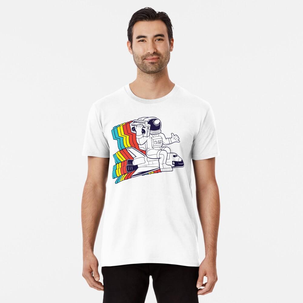 funky astronaut Premium T-Shirt