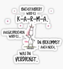 KARMA-KnochiART Sticker