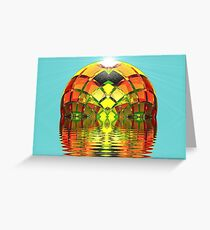 Green Eyed Lady of the Lake  (UF0281) Greeting Card