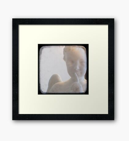 Sometimes when you least expect it... Framed Print