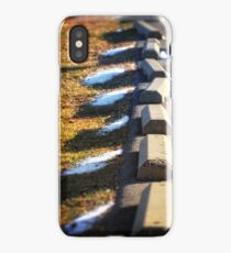 Parking Barriers iPhone Case/Skin