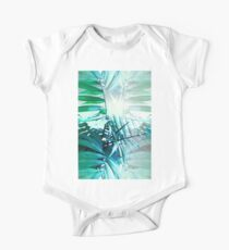 Tropical Palm One Piece - Short Sleeve