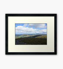 West Cork Mountains Framed Print