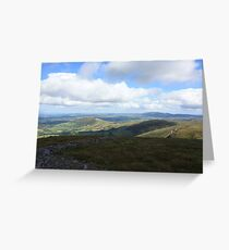 West Cork Mountains Greeting Card
