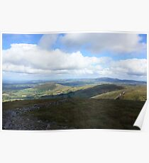West Cork Mountains Poster