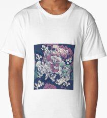 Garden Floral  Long T-Shirt