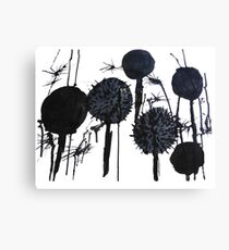 Spikes and Splats Canvas Print