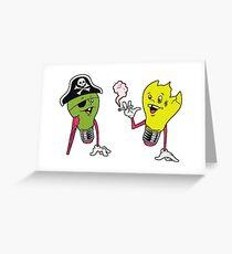 QOTSA • Era Vulgaris • Bulby Greeting Card