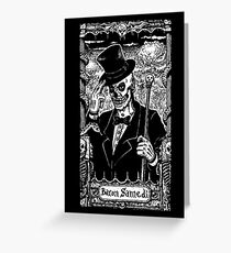 Baron Samedi Greeting Card
