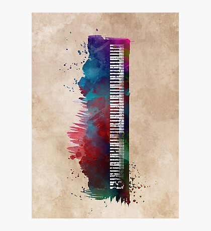 keyboard art #keyboard #piano Photographic Print