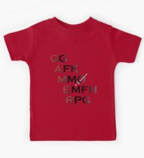 Gamer Acronyms Kids Clothes