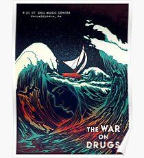 The War On Drugs, September 21, 2017 Dell Music Center Philadelphia, PA Poster