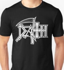 Band Death Logo White (Clean Version) T-Shirt