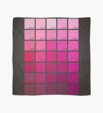 Shades of Pink Pantone Scarf