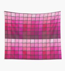 Shades of Pink Pantone Wall Tapestry