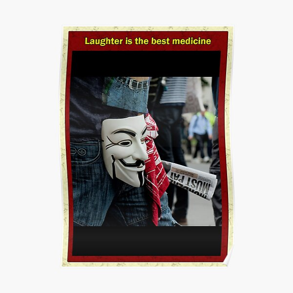 Laughter is the best medecine Poster