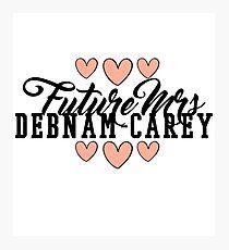 Future Mrs (Alycia) Debnam-Carey Photographic Print