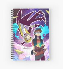 Gravity Falls - You'll Never Know What Hit You Spiral Notebook