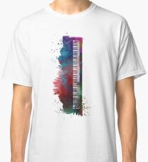 keyboard art #keyboard #piano Classic T-Shirt