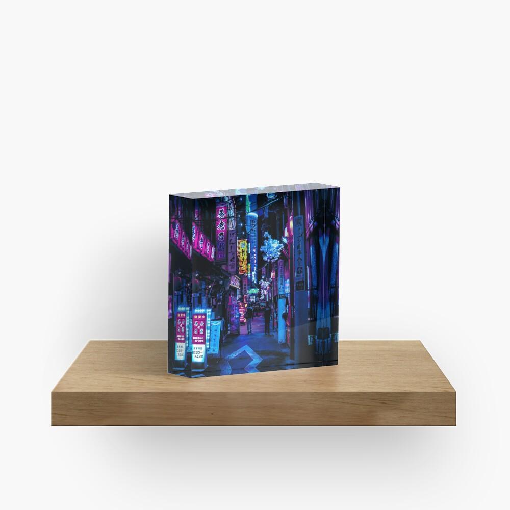Blade Runner Vibes Acrylic Block