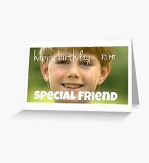kazoo kid birthday card Greeting Card