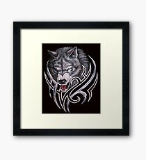 Wolves game of thrones-nymeria and ghost Framed Print