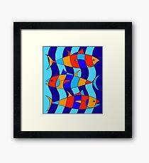 Elsebius - Tres Pescados Framed Print