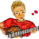 Cute Guitar Guy by hollybrooker4rt