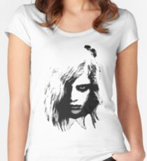 Barbara 3 Women's Fitted Scoop T-Shirt