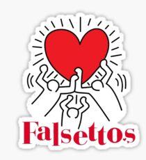 Falsettos Logo Sticker
