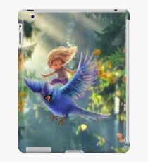 Bird BLUE  iPad Case/Skin