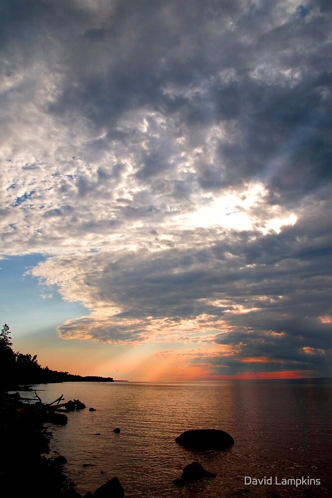 Superior Sunset v.1 by David Lampkins