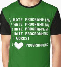 I HATE PROGRAMMING Graphic T-Shirt