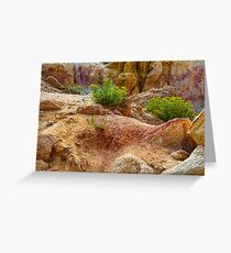 Geological Playground Greeting Card