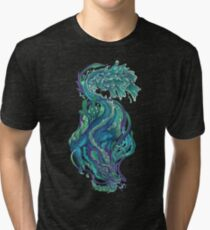 Imperial Water Dragon Tri-blend T-Shirt
