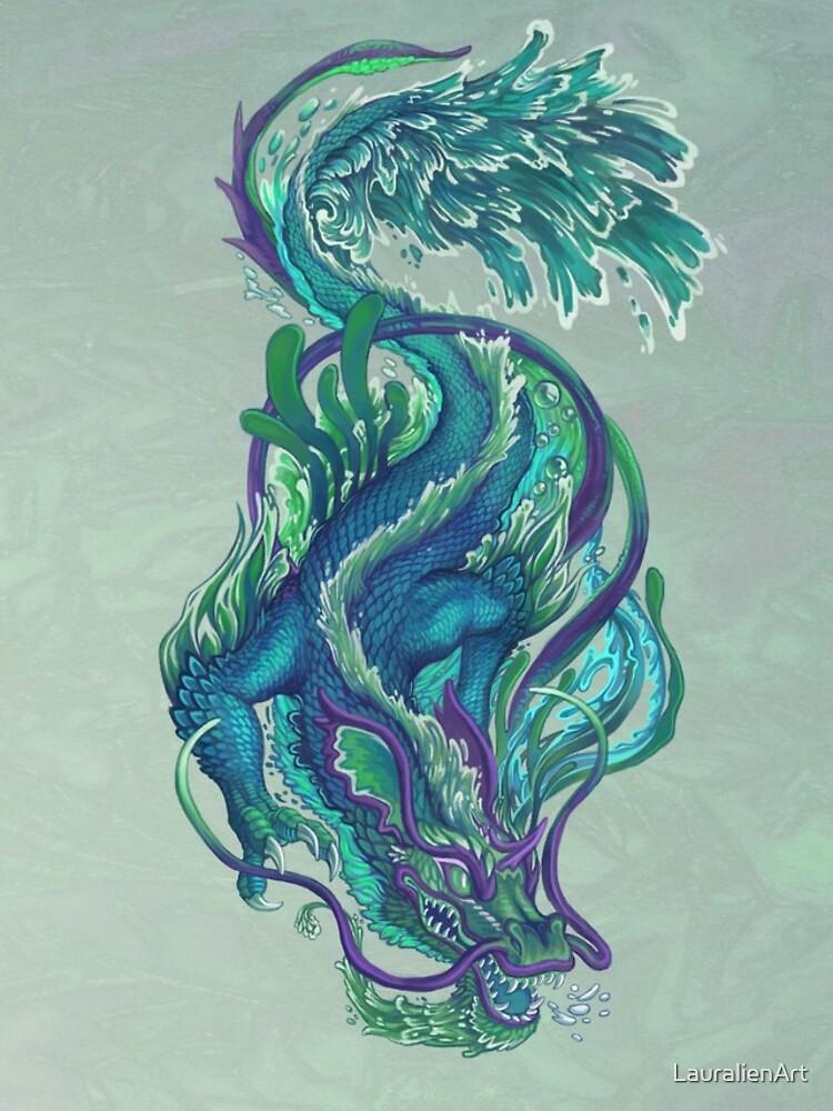 Imperial Water Dragon by LauralienArt