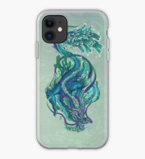 Imperial Water Dragon iPhone Case