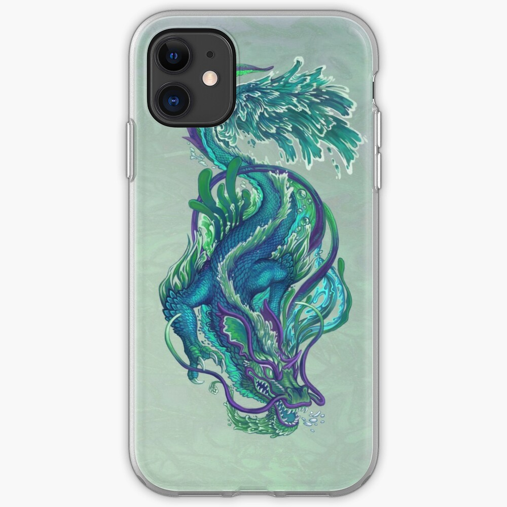 Imperial Water Dragon iPhone Case & Cover