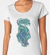 Imperial Water Dragon Premium Scoop T-Shirt
