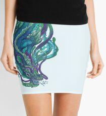 Imperial Water Dragon Mini Skirt