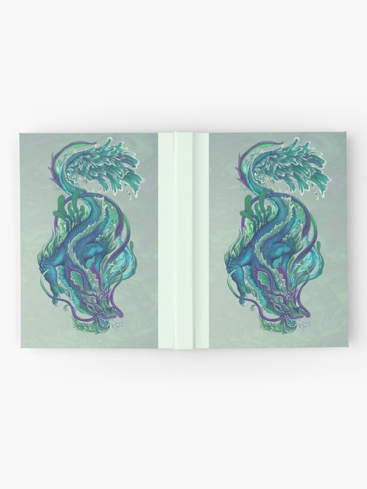 Alternate view of Imperial Water Dragon Hardcover Journal