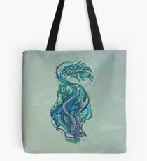 Imperial Water Dragon Tote Bag