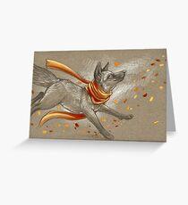 Autumn Frolic Greeting Card