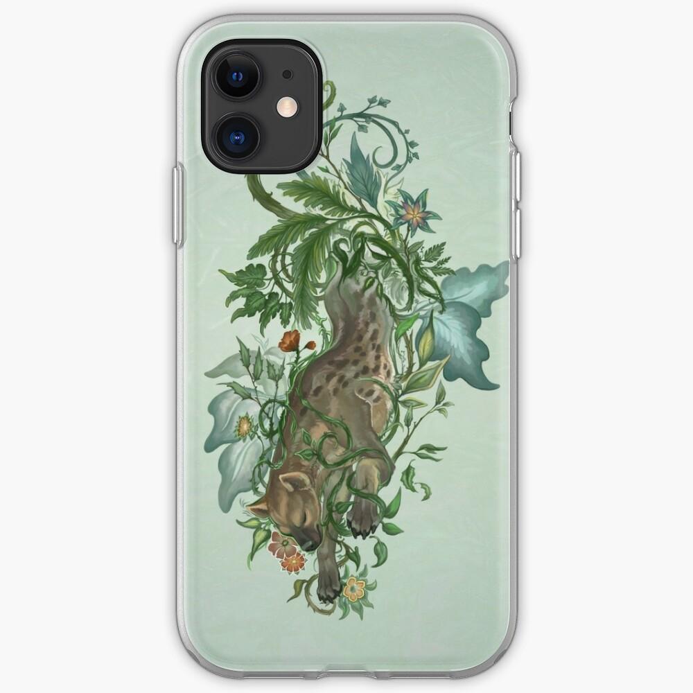 Thorned Hyena iPhone Soft Case