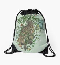 Thorned Hyena Drawstring Bag